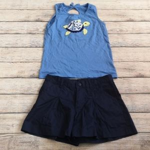 Gymboree Greek Isles 2 Piece Set